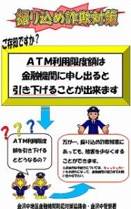 ATM利用限度額